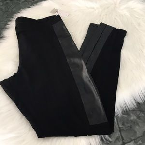 BP Moto leggings elastic waist pants